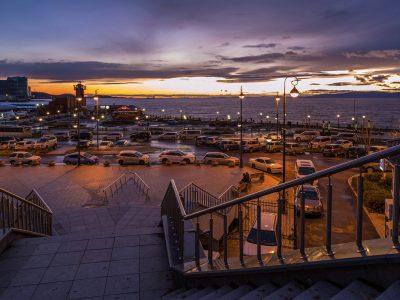 Vladivostok in the evening